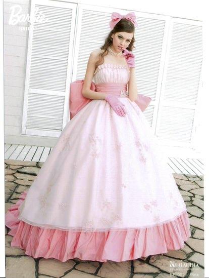 バ-ビ-カラ-ドレス