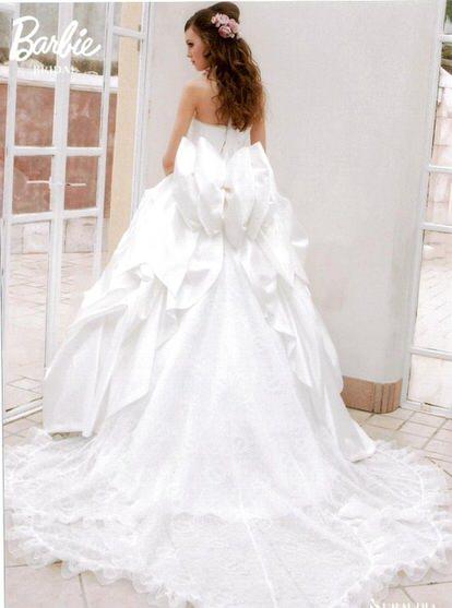 バ-ビ-ウェディングドレス
