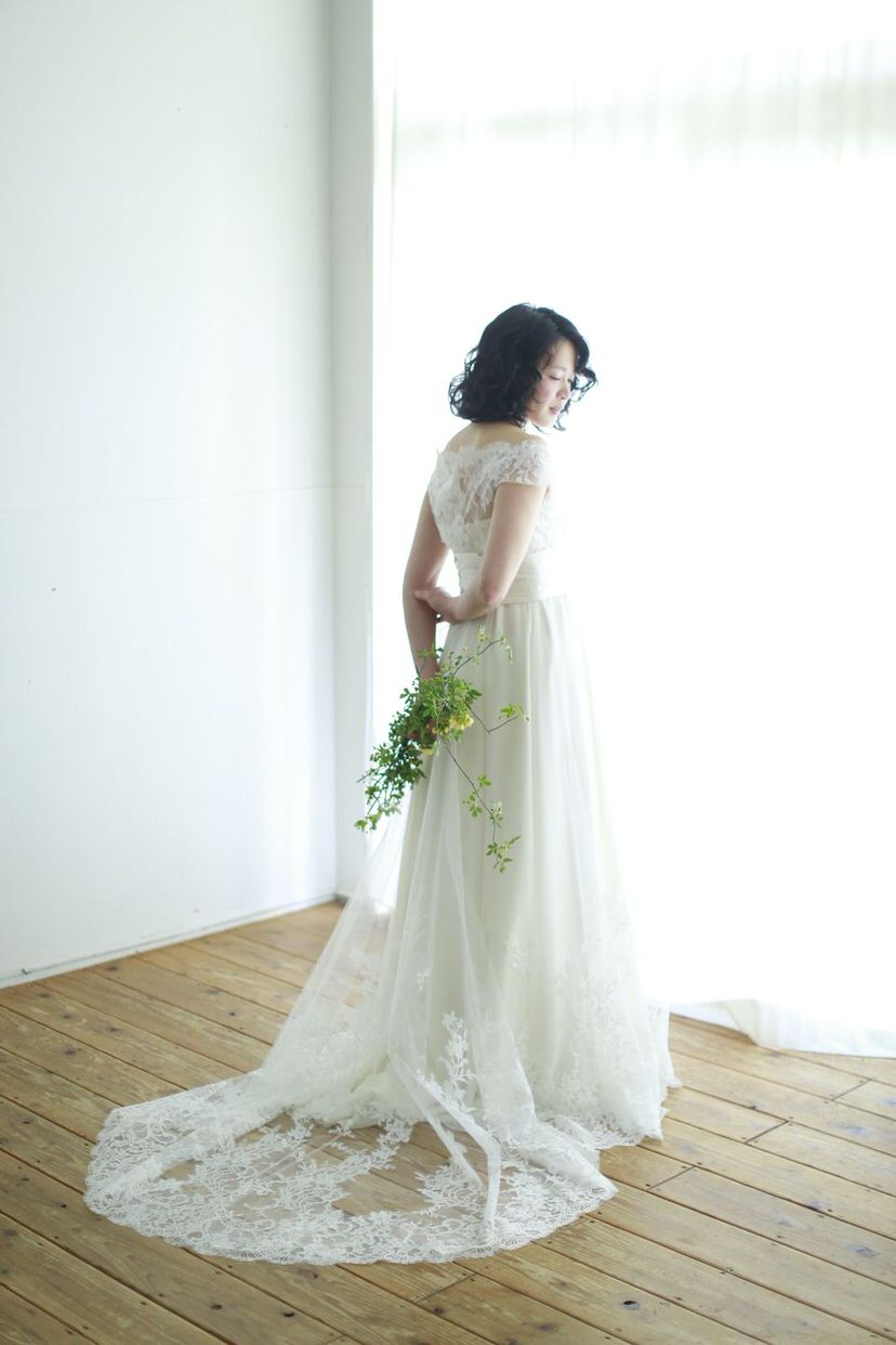 d-033 2WAYウエディングドレス
