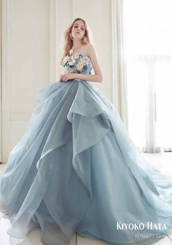 キヨコハタ新作ドレスのご紹介  KH0471