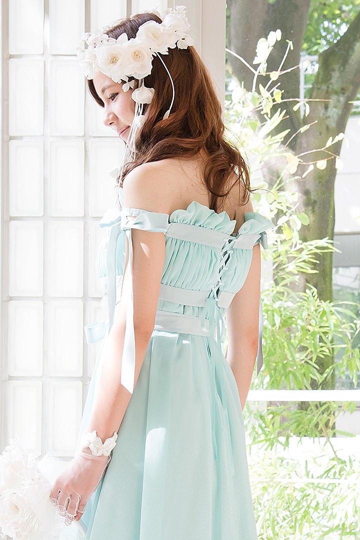 Dress Mania ウェディングドレス N-0030Gr