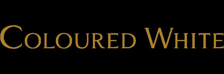 COLOURED WHITE(カラードホワイト)